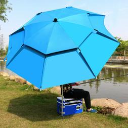 1.8-2m 360° Outdoor Beach Camping Fishing <font><b>Umbrella