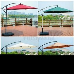 10ft Outdoor Patio Umbrella Market Beach Camping Table Yard