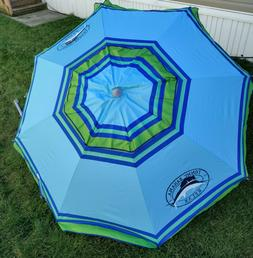 Tommy Bahama 2015 Sand Anchor 7 feet Beach Umbrella with Til