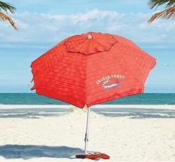 Tommy Bahama 2016 Sand Anchor 7 feet Beach Umbrella with Til
