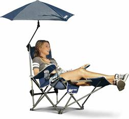 Sport-Brella 3-Position Recliner Chair with Removable Umbrel