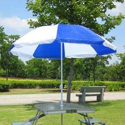 6.5'FT Outdoor Patio Umbrella Market Beach Camping Table Yar
