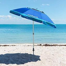 Tommy Bahama 7 Foot Beach Umbrella 2016 w/Tilt, Wind Vent, S