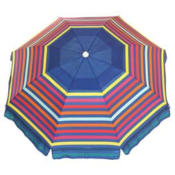 Nautica 7 Foot Tilting Beach Umbrella