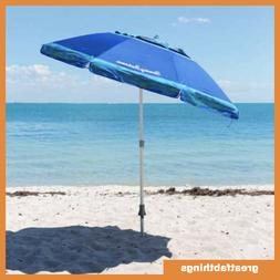 Tommy Bahama 7 ft Beach Umbrella 2018 Collection - Blue