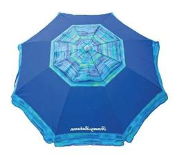 Tommy Bahama 7 Ft Sun Beach Patio Vented Tilt Umbrella Blue