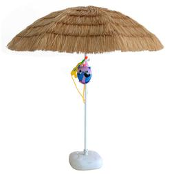 7ft Hula Thatched Tiki Umbrella Hawaiian Style Beach Patio U