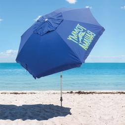 Tommy Bahama 8-ft Beach Umbrella BLUE - Protects Against The