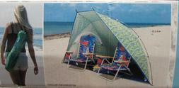 Tommy Bahama 9ft Wide Portable Sun Shelter/Tent/Beach Umbrel