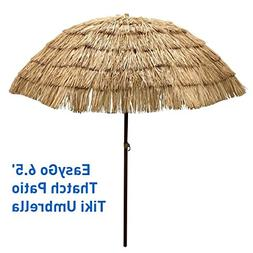 EasyGo - 6.5' Thatch Patio Tiki Umbrella – Tropical Palapa