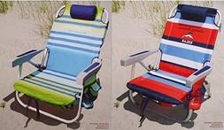 2 Tommy Bahama 2015 Backpack Cooler Chairs with Storage Pouc
