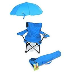 Beach Baby Kids Camp Chair with Carry Umbrella and matching