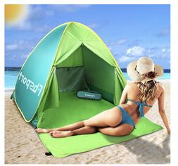 Beach Canopy Teepee Tent Outdoor Umbrella Stand Camping Ac