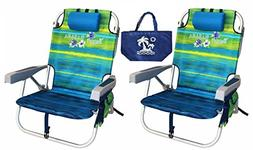Beach Chair Backpack Portable Reclining Chairs Camping Outdo