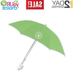 Beach Chair Umbrella 48 Inch Clamp on with UV Protection Pol