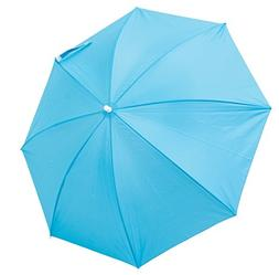 Beach Clamp-On Umbrella  Sun Block UV Protection- Turquoise