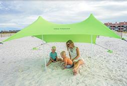 Mad Grit Beach Shade Green