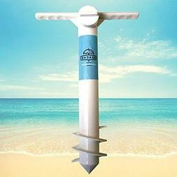 Beach Umbrella Sand Anchor Stands & Bases One Size Fits All