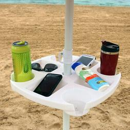 Sunnydaze Beach Umbrella Table, ECG-274