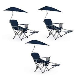 Sport Brella Sun Shelter Weather Umbrella Recliner Folding C