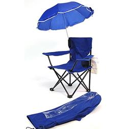 Kids Camp Chair, Royal Blue