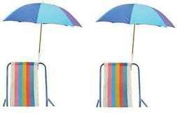 clamp on umbrella for beach chair or