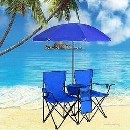 Beach Chair Folding Lightweight Double Camping Picnic Seat w