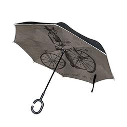 DNOVING Double Layer Inverted Vintage Steampunk Bicycle Pate