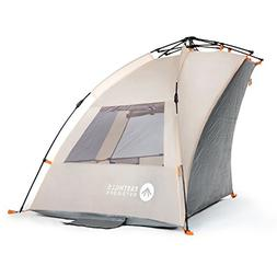 Easthills Outdoors Easy Up Beach Tent Sun Shelter - Extended