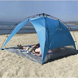 EasyGo Shelter XL - Instant Beach Umbrella Tent Pop Up Easy
