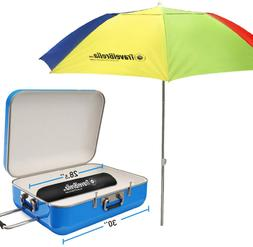 EasyGoProducts EasyGo Travel Beach Umbrella – for Cruise,
