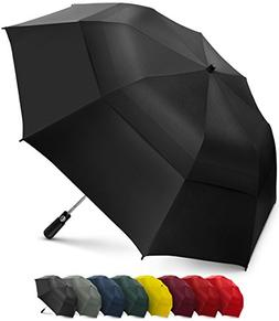 folding golf umbrella windproof double