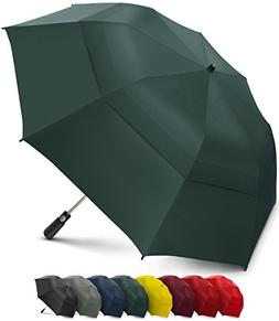 EEZ-Y Folding Golf Umbrella 58-inch Large Windproof Double C