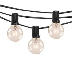 25FT Outdoor String Lights For Patio Globe Edison Vintage Pa