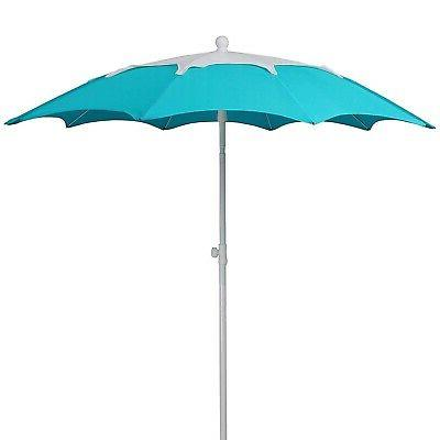 AMMSUN Polyester Fabric Umbrella, Heig...