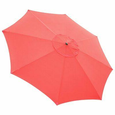 13ft universal replacement umbrella canopy top cover