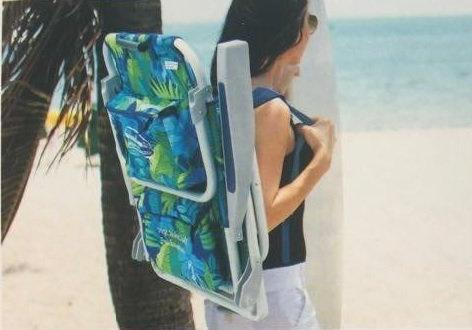 Tommy Bahama Backpack Beach Chair with Towel