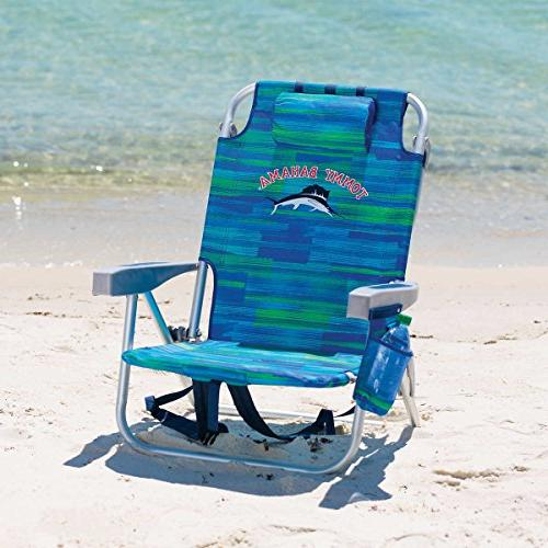 2 Tommy Beach Chairs + 7' BLUE - 2018