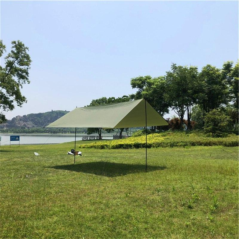 300X300cm Anti Ultralight <font><b>Sun</b></font> Portable Tent Pergola Awning Canopy <font><b>Camping</b></font> BBQ 3-4 People