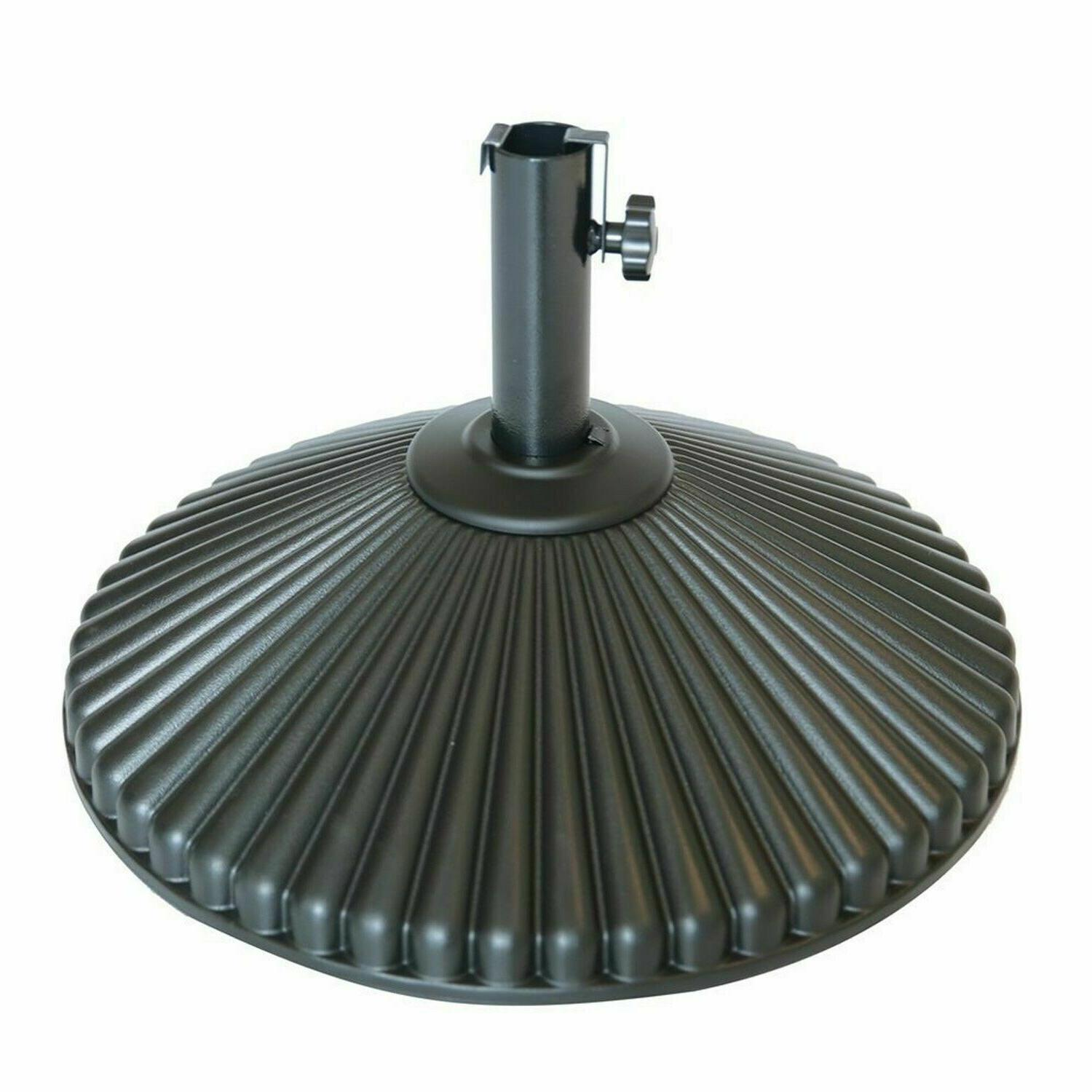 50 lbs round patio umbrella base recyclable