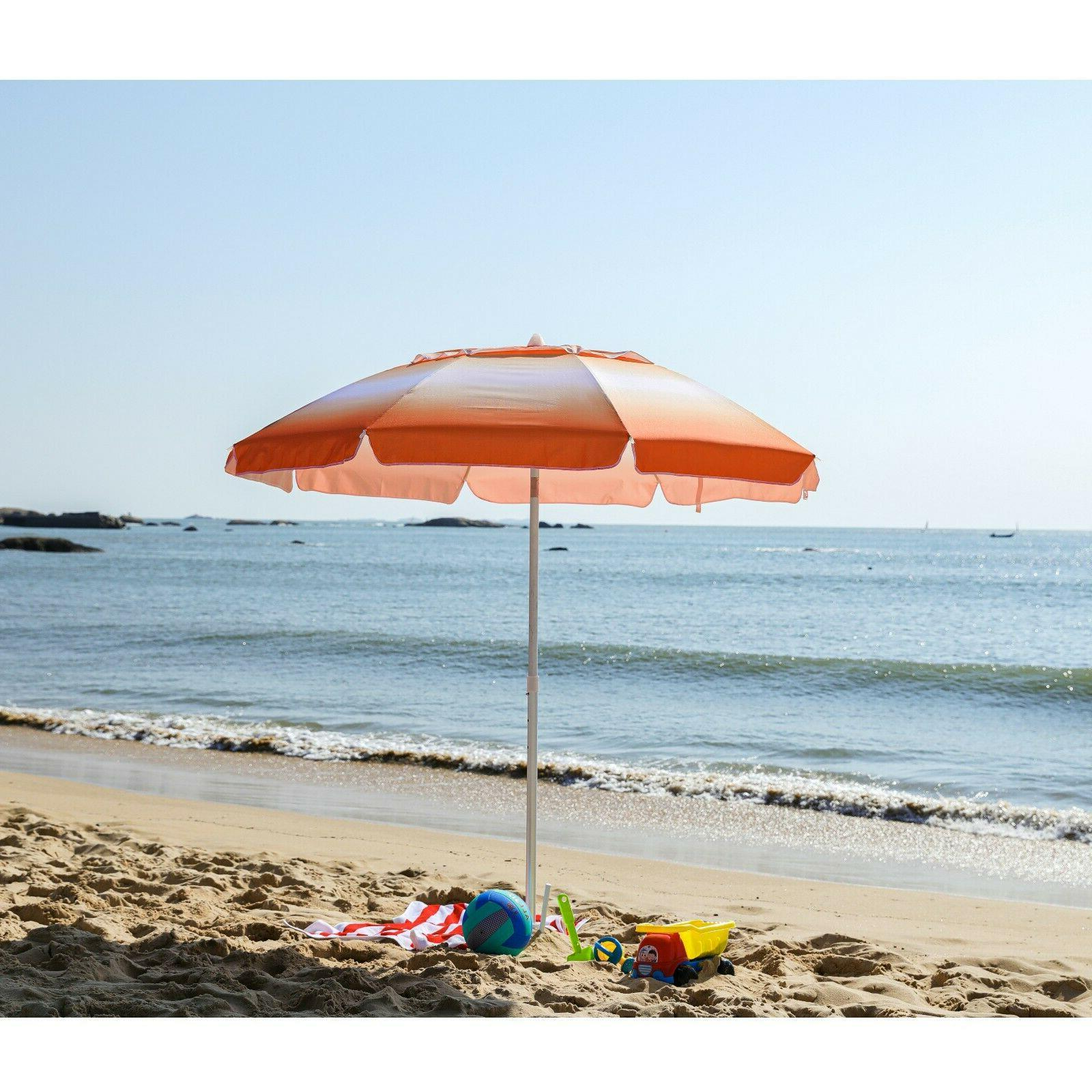 AMMSUN Umbrella with Protection,Separate Sand