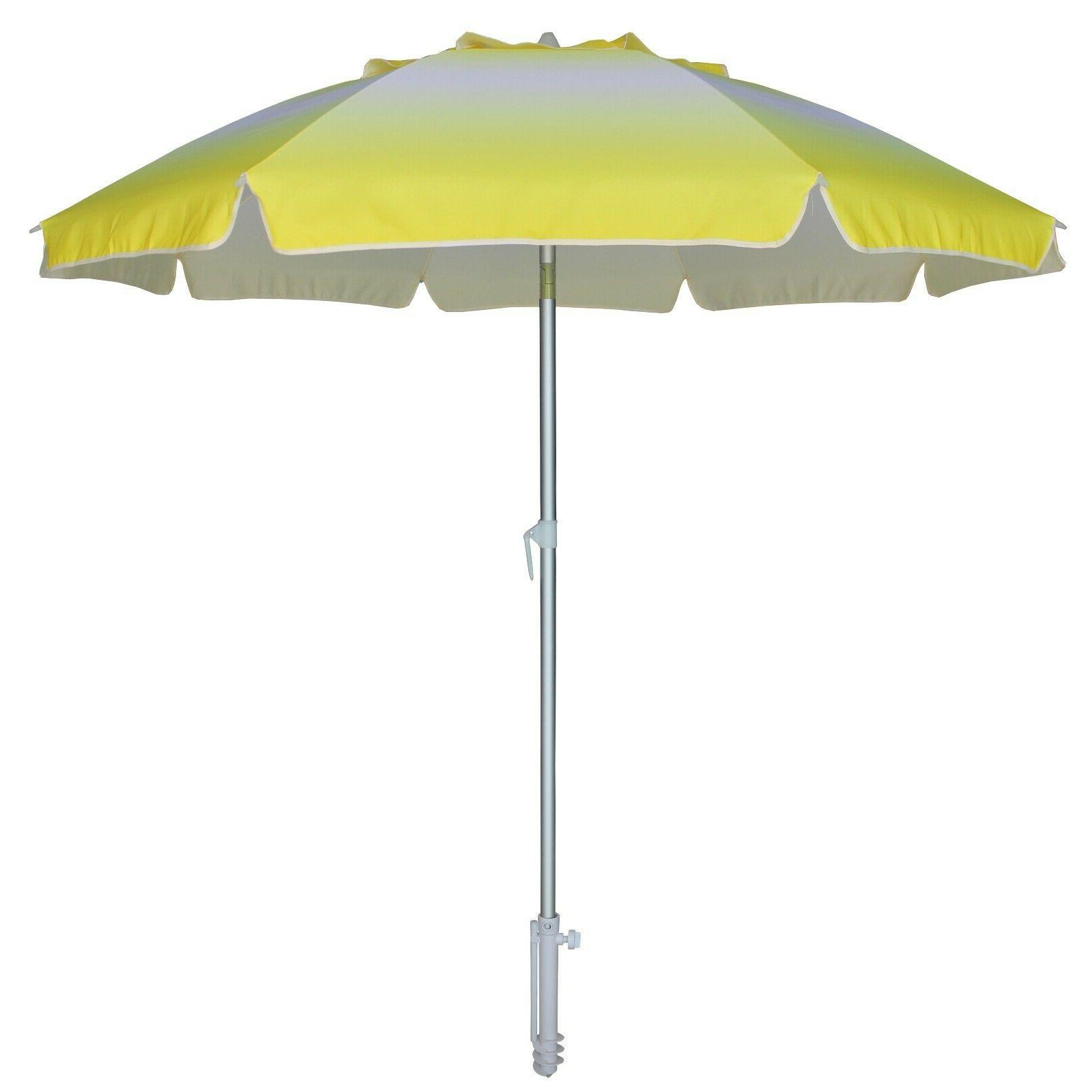 AMMSUN Beach Umbrella with Tilt Anchor,UV