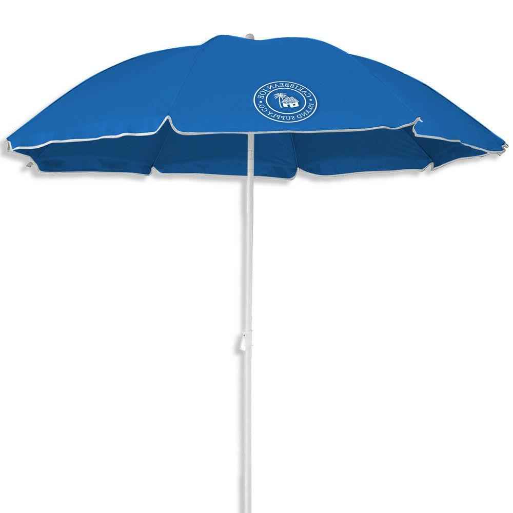 6 foot beach umbrella with uv