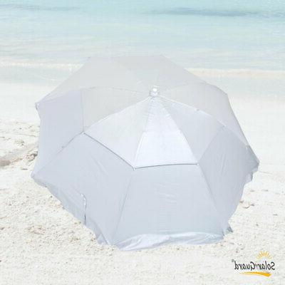 6 Dual Canopy Umbrella UPF Heavy