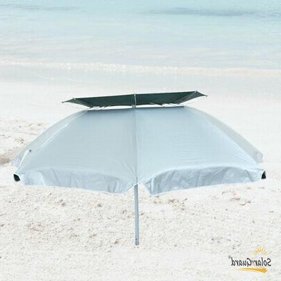 6 ft SolarGuard Deluxe Dual Umbrella Heavy Duty