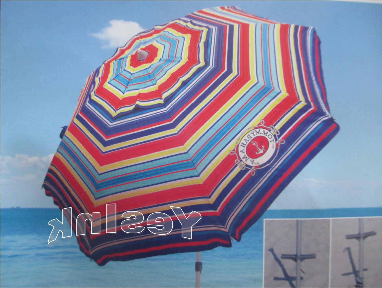 TOMMY Bahama Umbrella w/ Tilt MULTI-COLOR OR FAST SHIPPING!