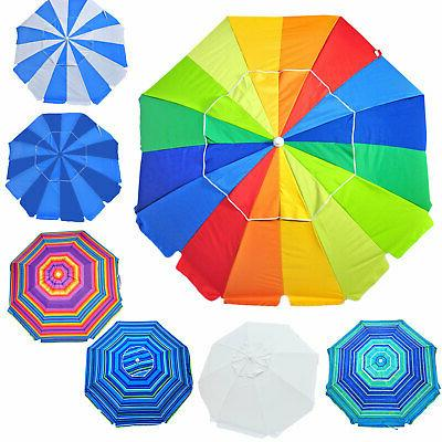 8 ft heavy duty beach umbrella