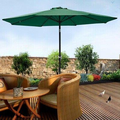 9ft Patio Tilt Market Yard Beach Sunshade UV