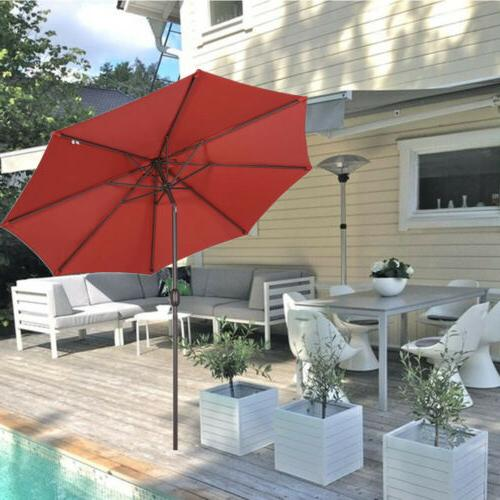 9ft Market Patio Umbrella Beach