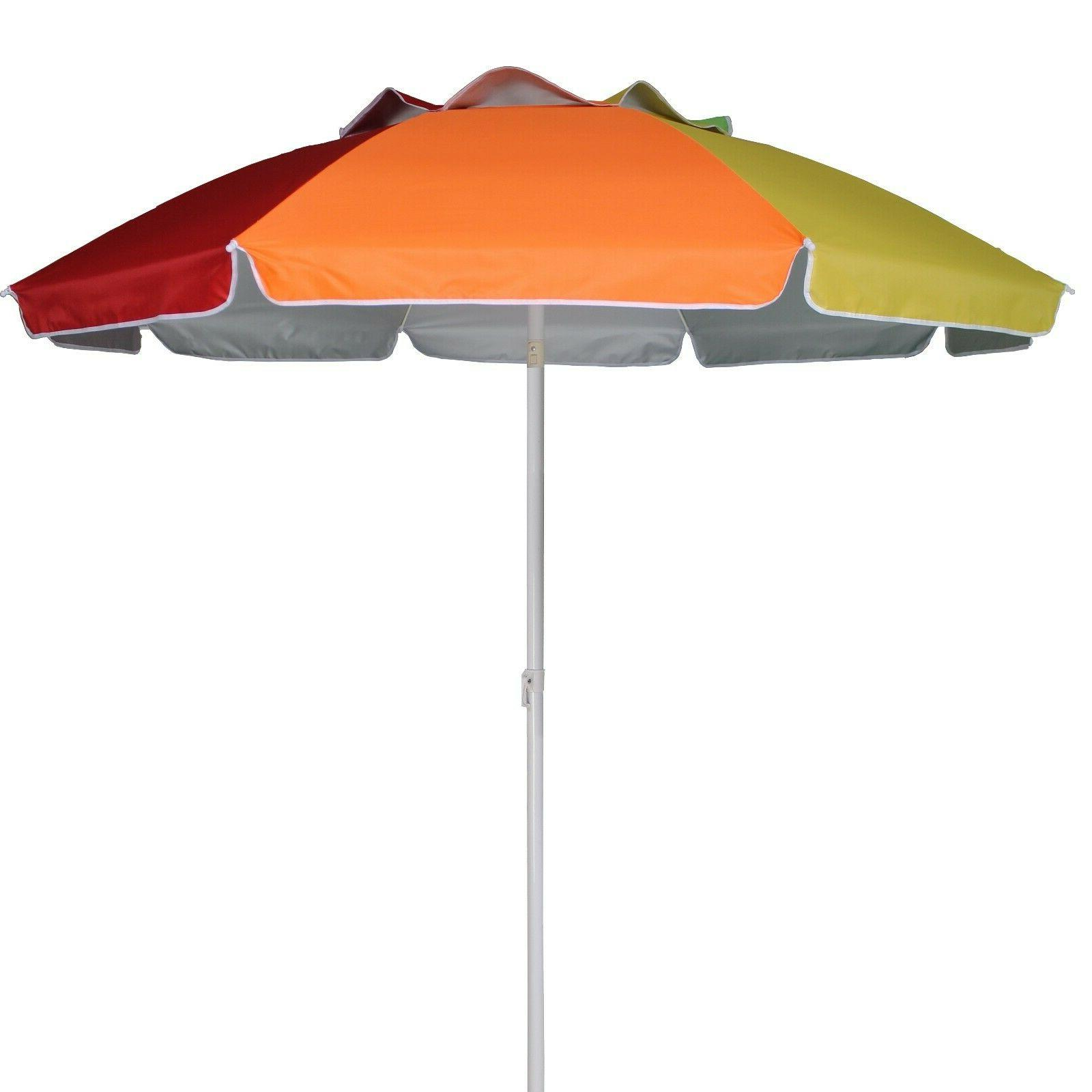 AMMSUN Umbrella, Steel Pole, 100+